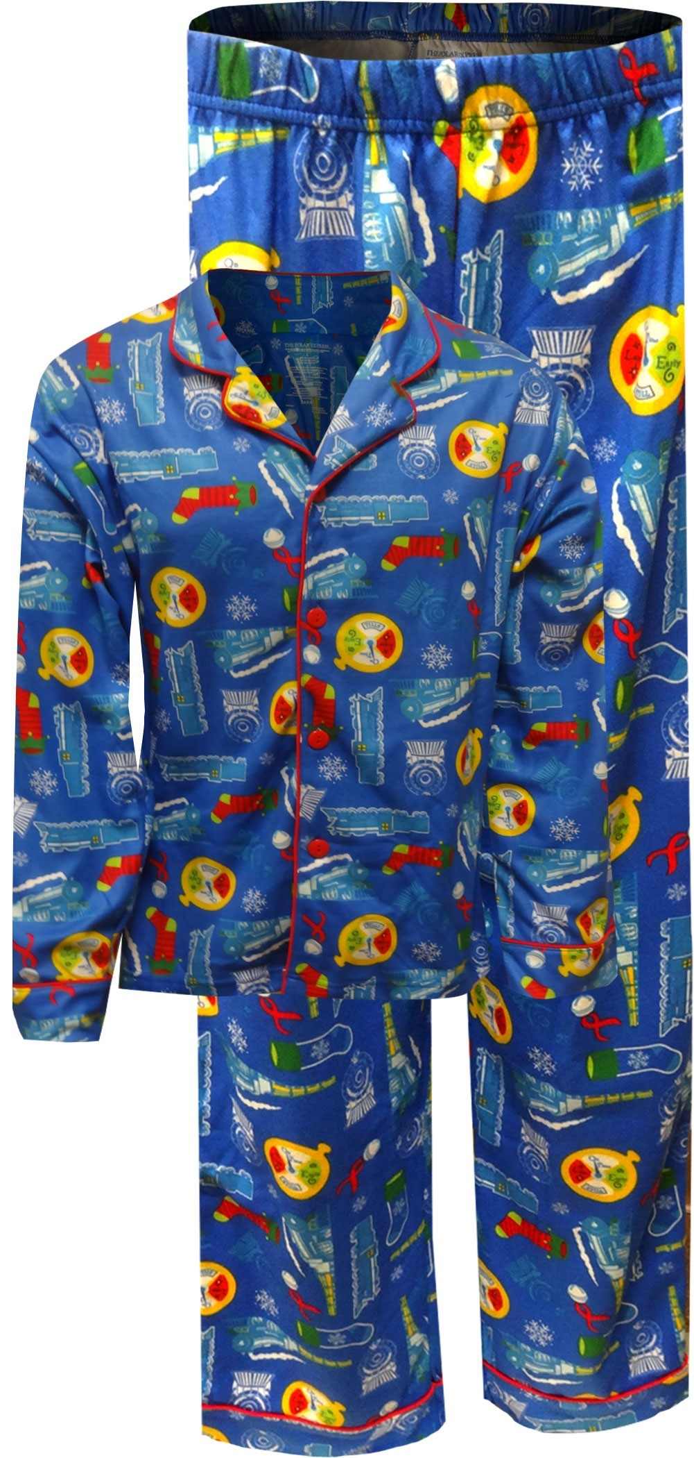 b8c9f04929 Polar Express Traditional Adult Pajamas. zoom Mouseover photo to Zoom in