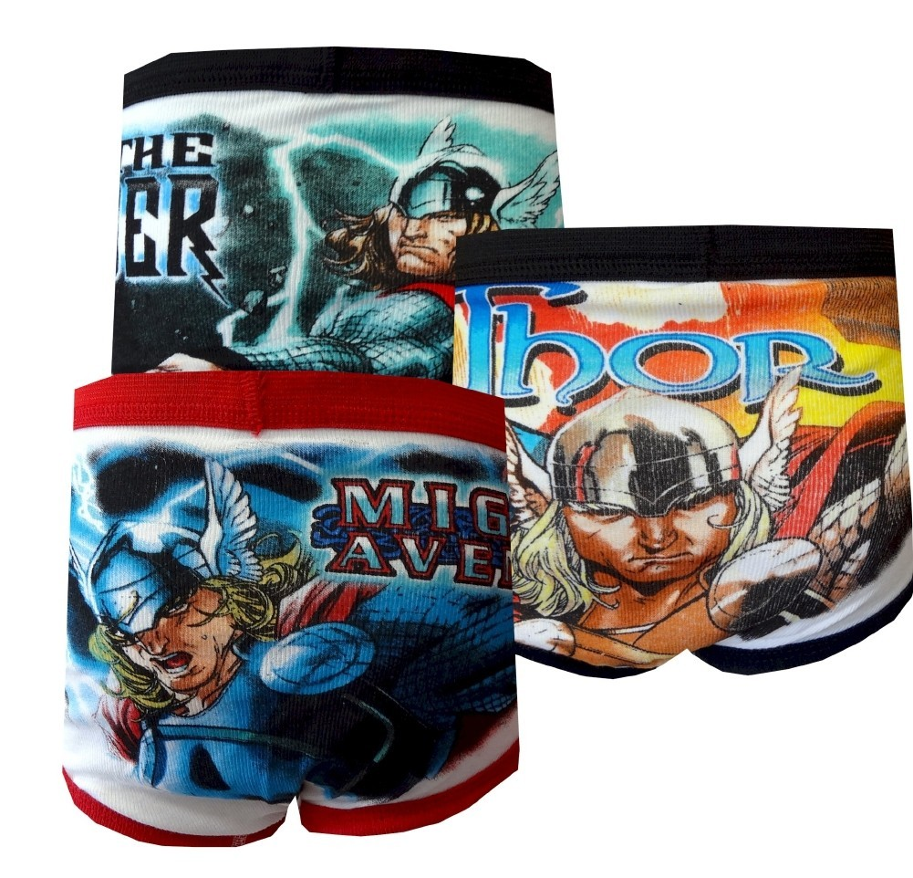 DC Comics Thor The Mighty Avenger 3-Pack Boys Briefs