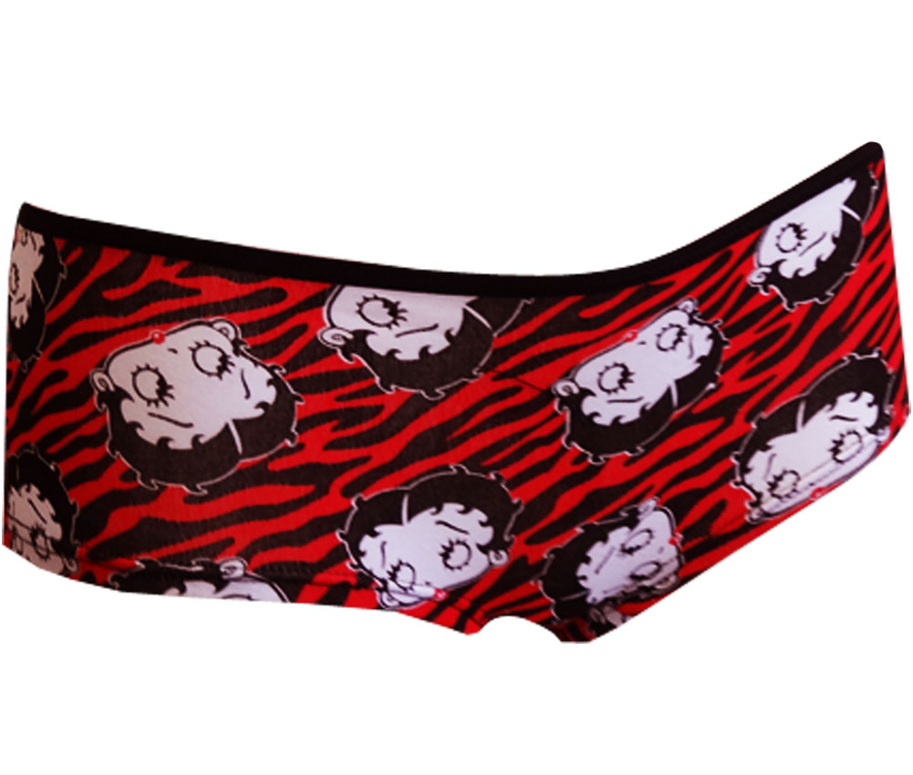 Image of Betty Boop Wild Tiger Stripes Panty for women