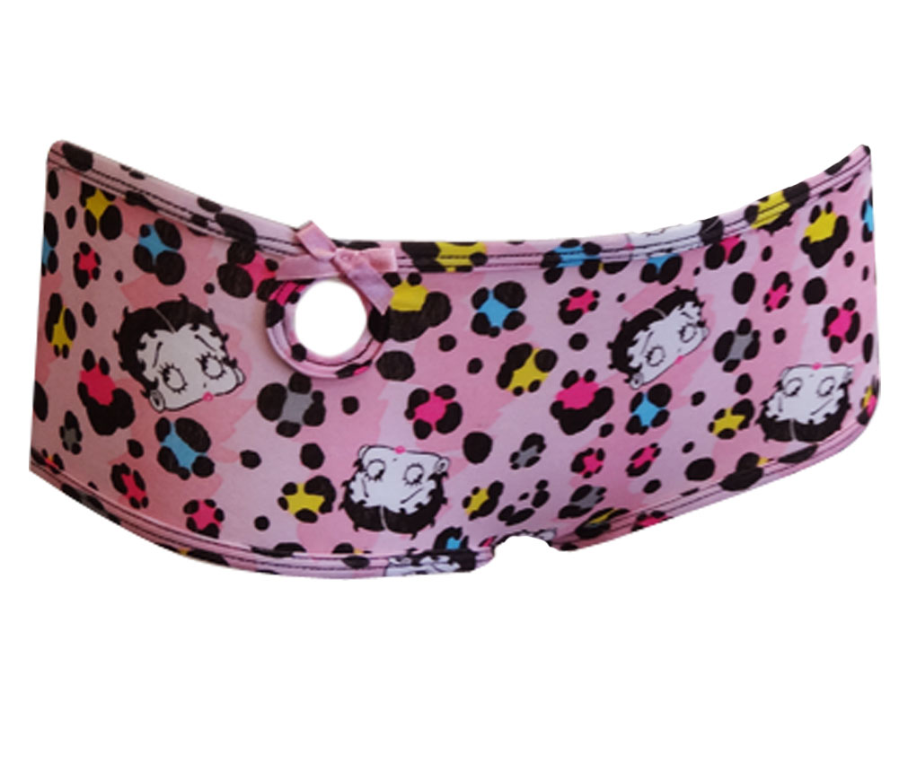Image of Betty Boop Animal Print Panty for women