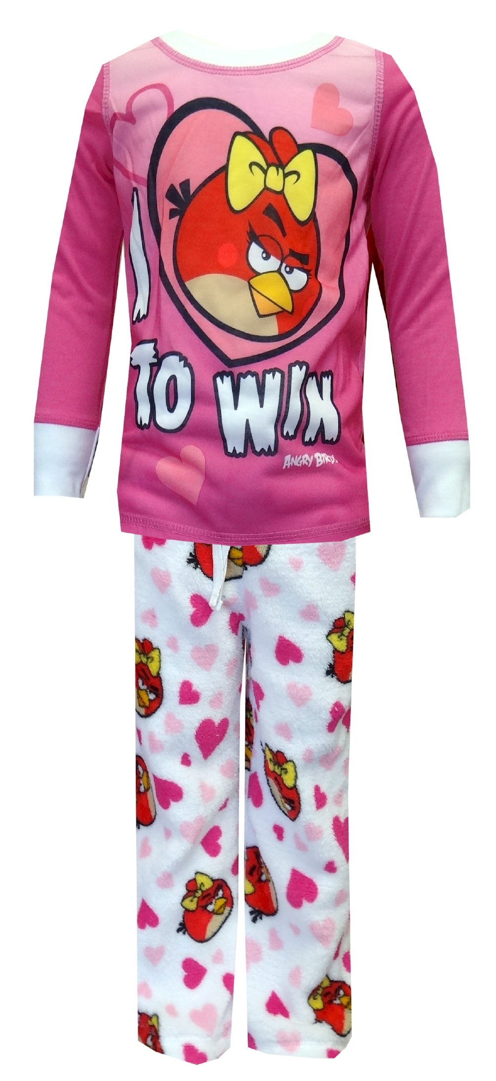 Angry Birds Pajamas for Girls - I Love To Win