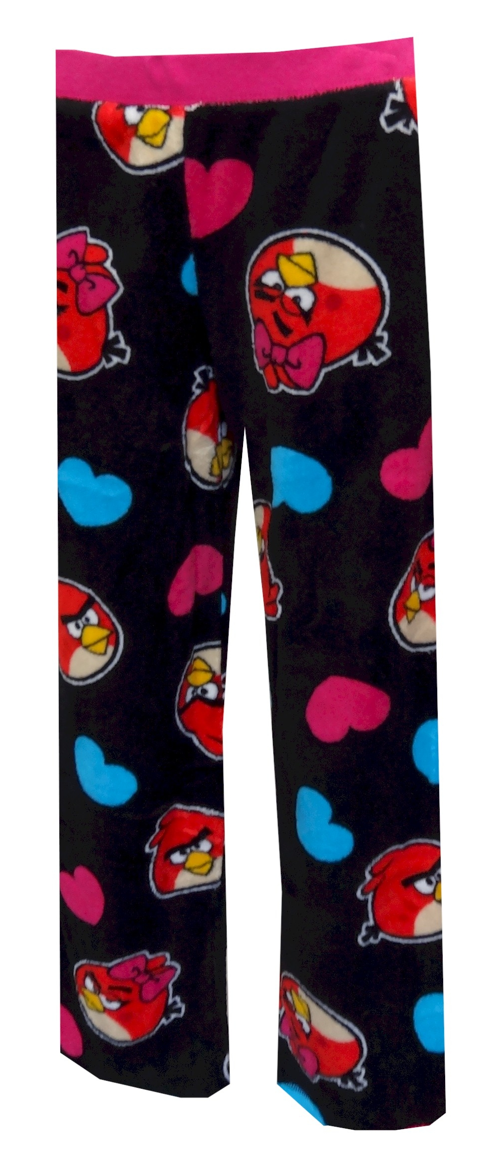 Image of Angry Birds Hearts Plush Lounge Pants for women