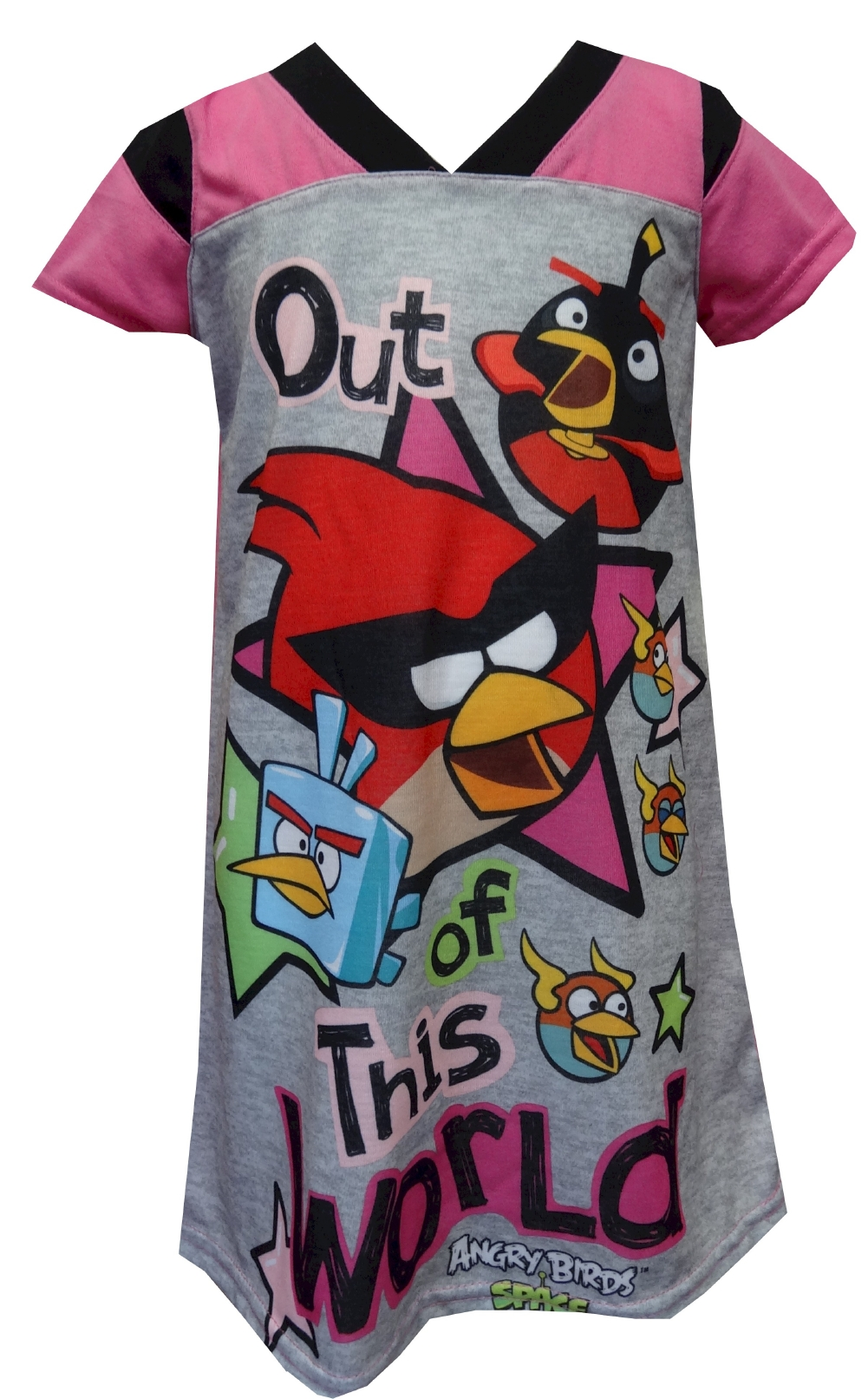 Angry Birds Space Out Of This World Nightgown for Girls