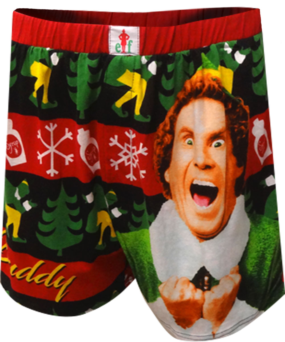 Image of Buddy the Elf I Love Sugar Christmas Boxers for men