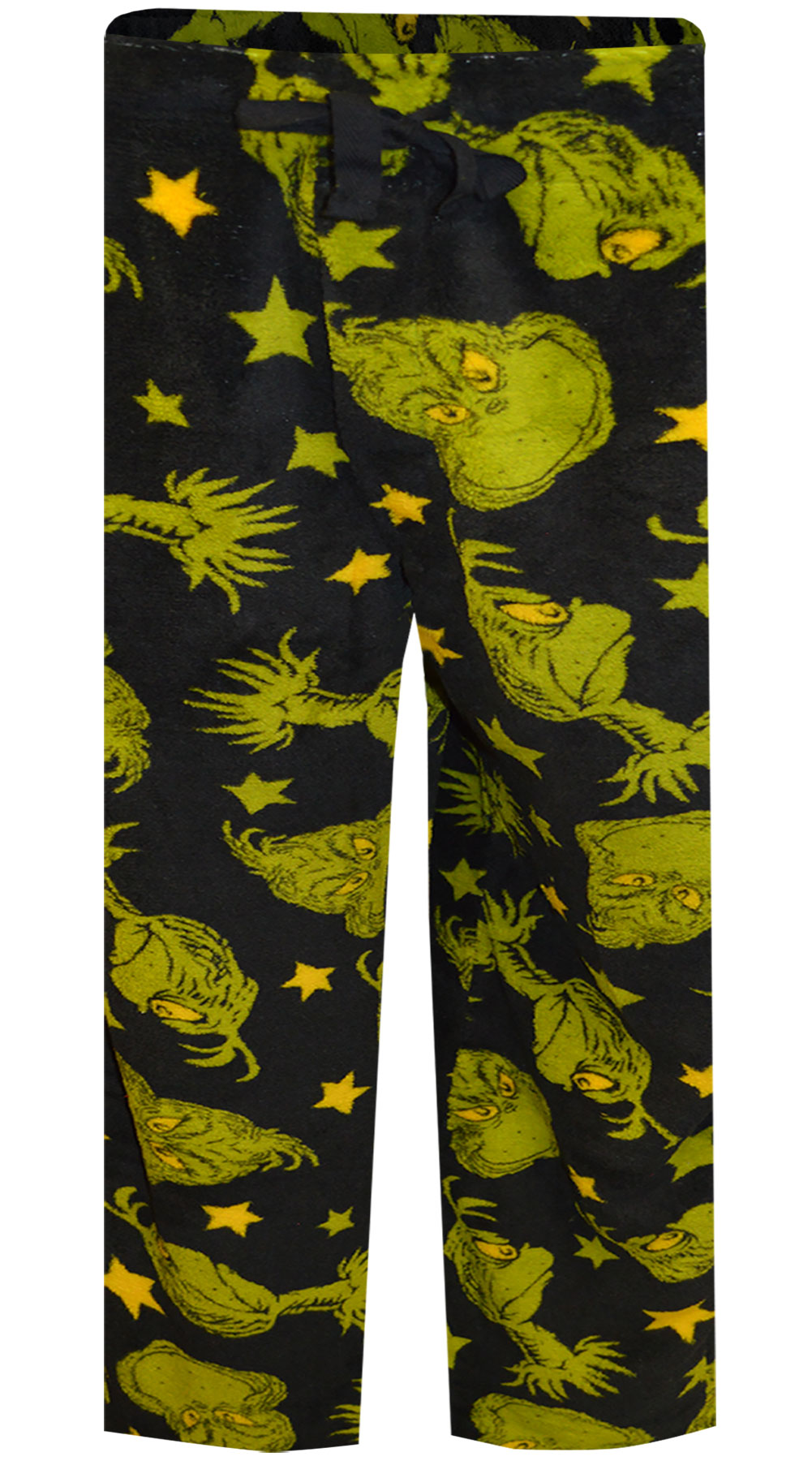 Image of Dr. Seuss The Grinch Plush Boys Lounge Pants for boys