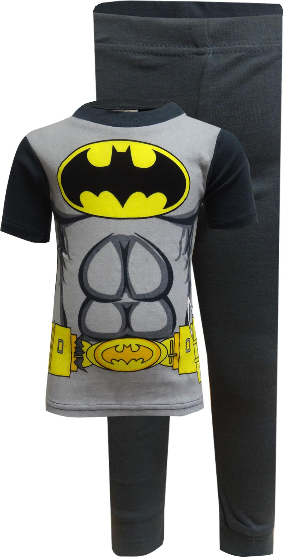 Image of Batman Super Abs Pajama for Boys for boys