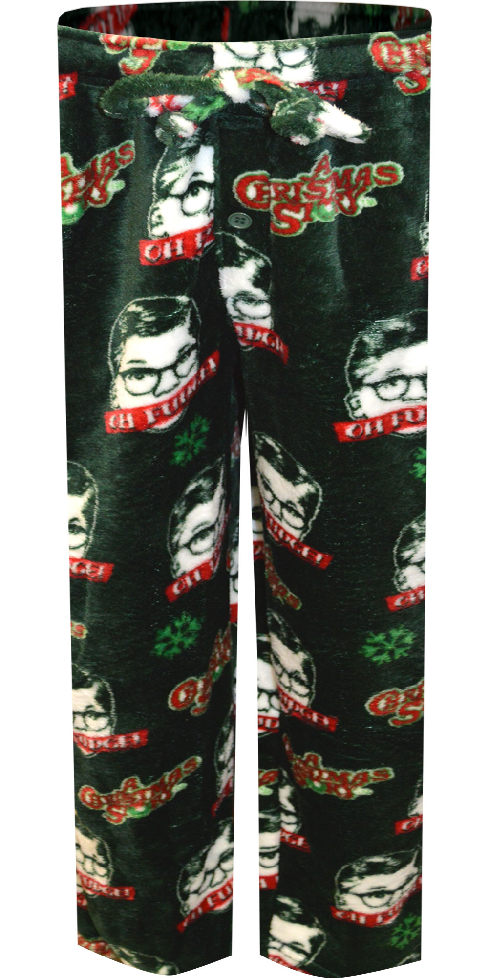 Image of A Christmas Story Oh Fudge Plush Fleece Lounge Pant for men
