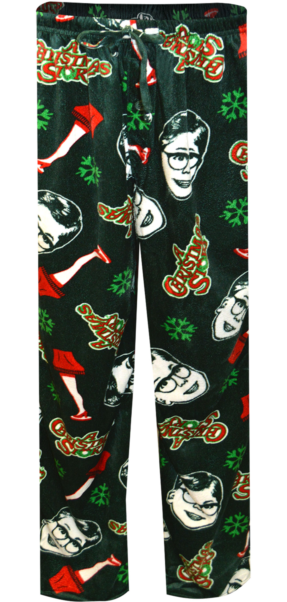 Image of A Christmas Story Holiday Sueded Fleece Lounge Pant for men