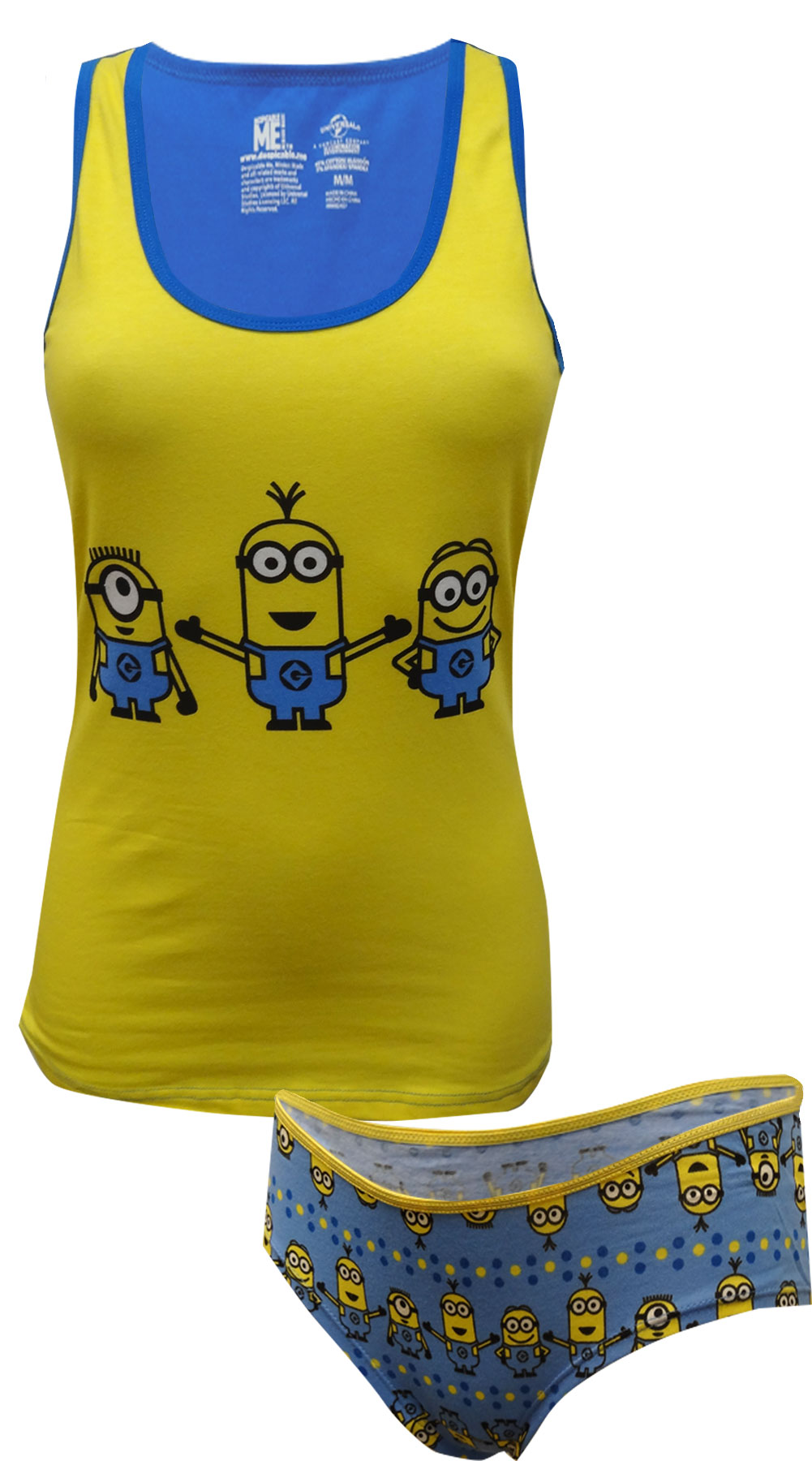 Image of Despicable Me Minions Camisole & Panty Set for women
