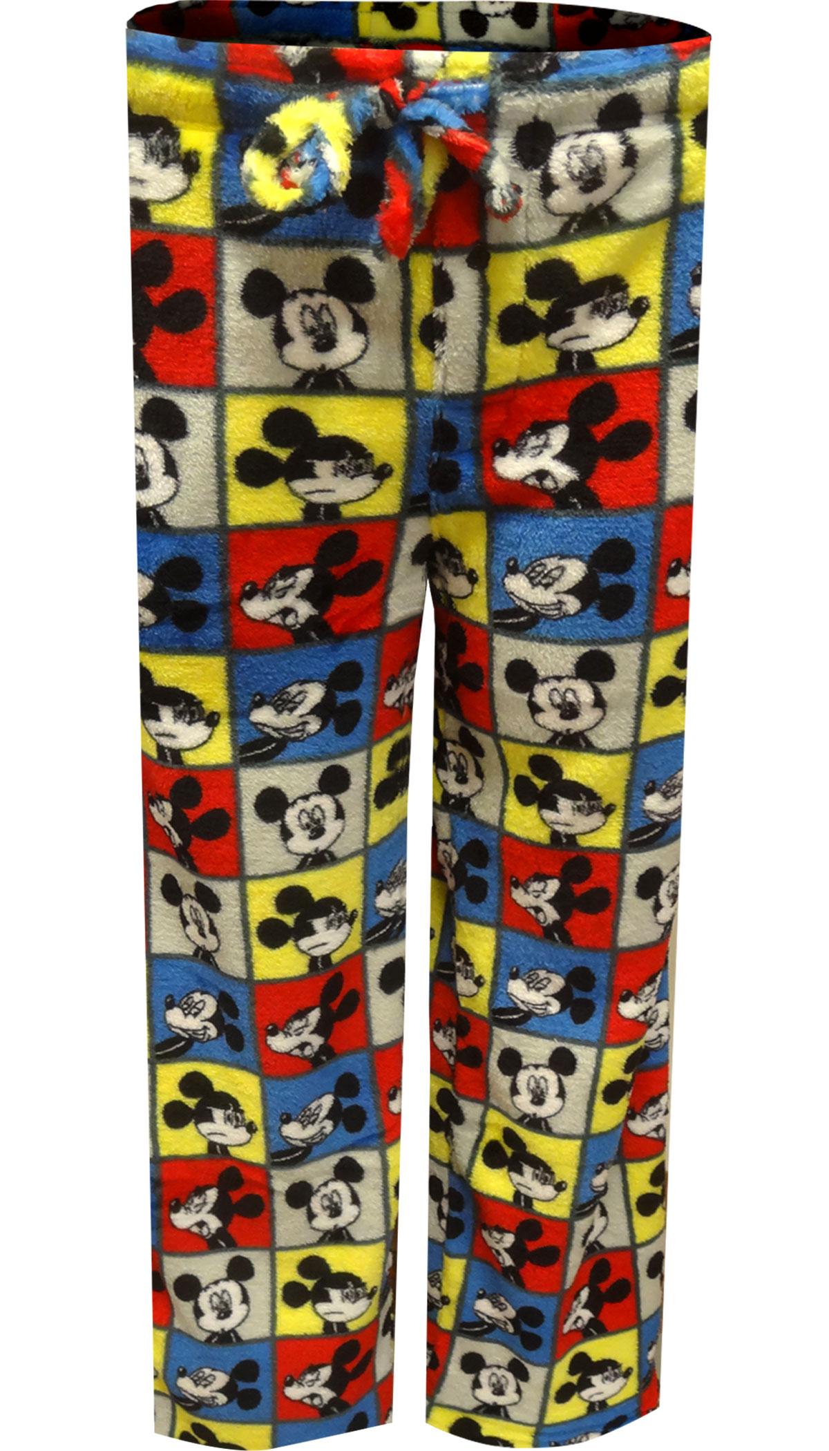 Image of Disney Mickey Mouse Plush Fleece Lounge Pants for men