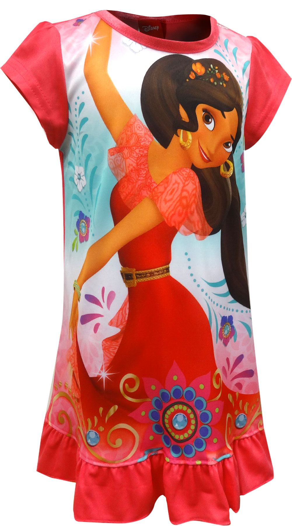 Image of Disney Elena Of Avalor Dancing Fun Toddler Nightgown for girls