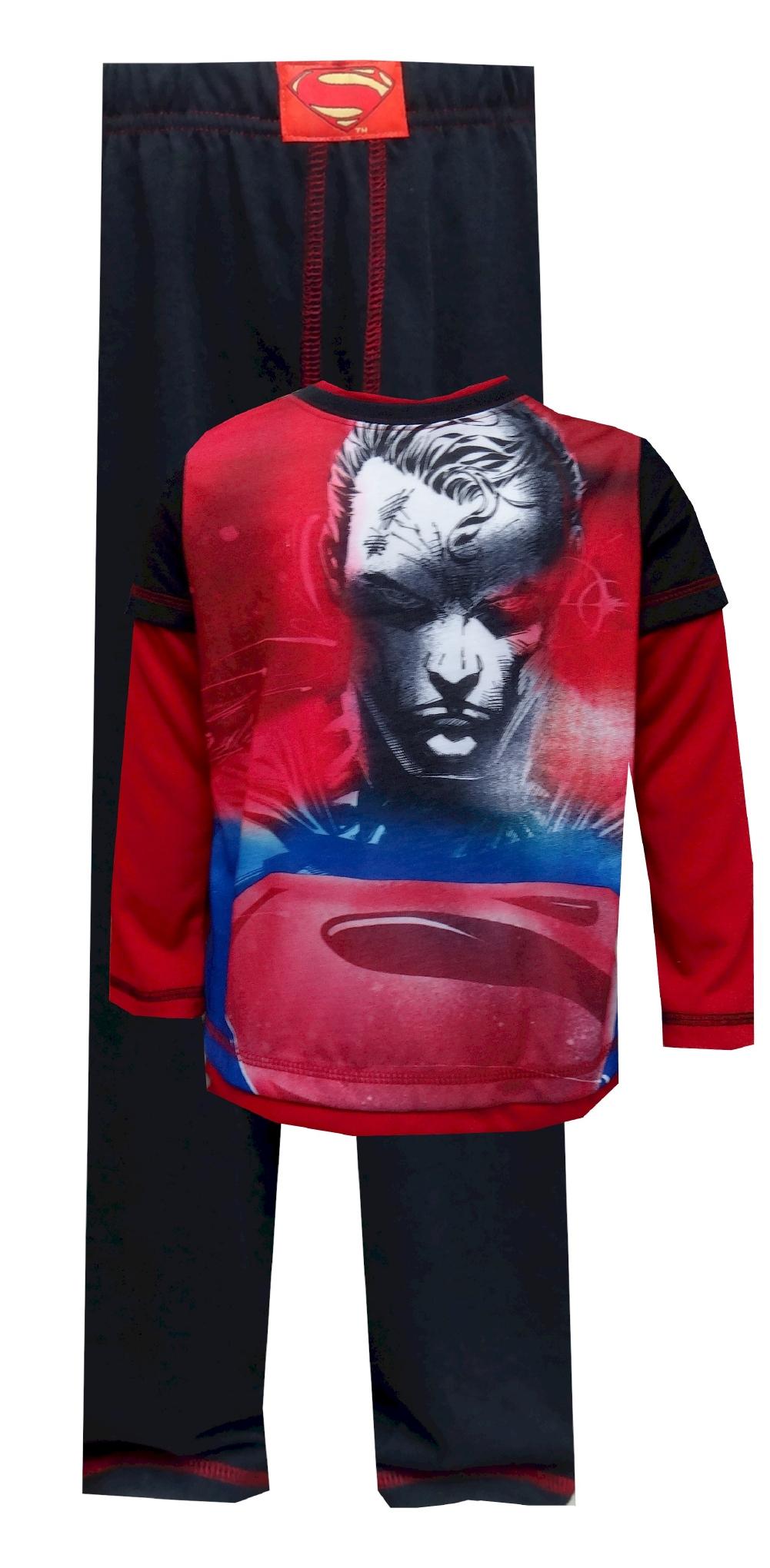 DC Comics Superman Fierce Fighter Pajamas for boys