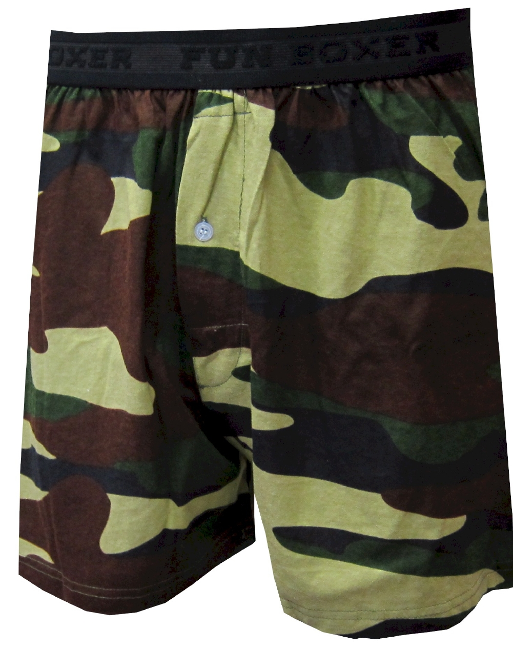 Olive Green Military Camo Boxers for men
