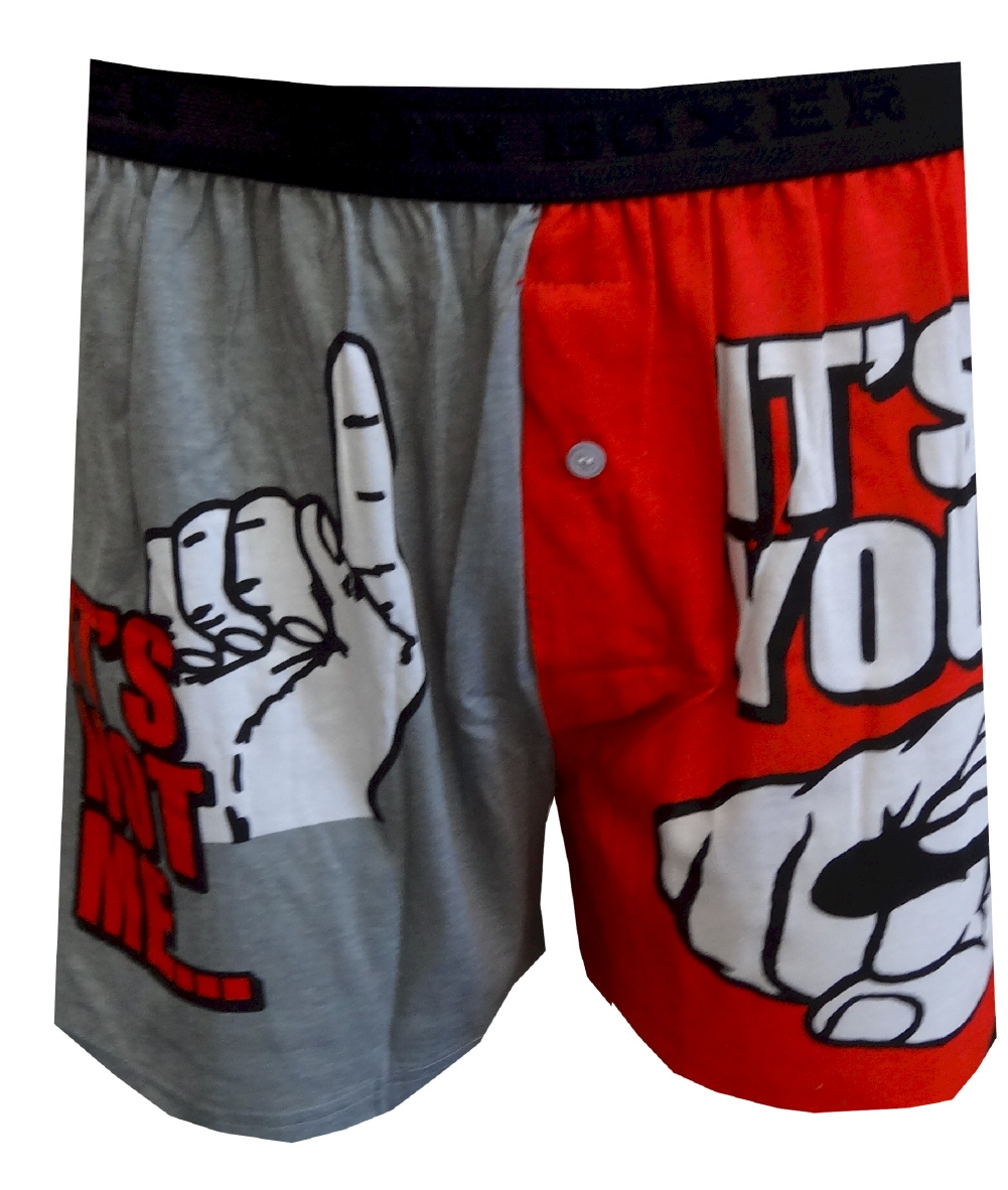 It's Not Me, It's You Boxer Shorts for men