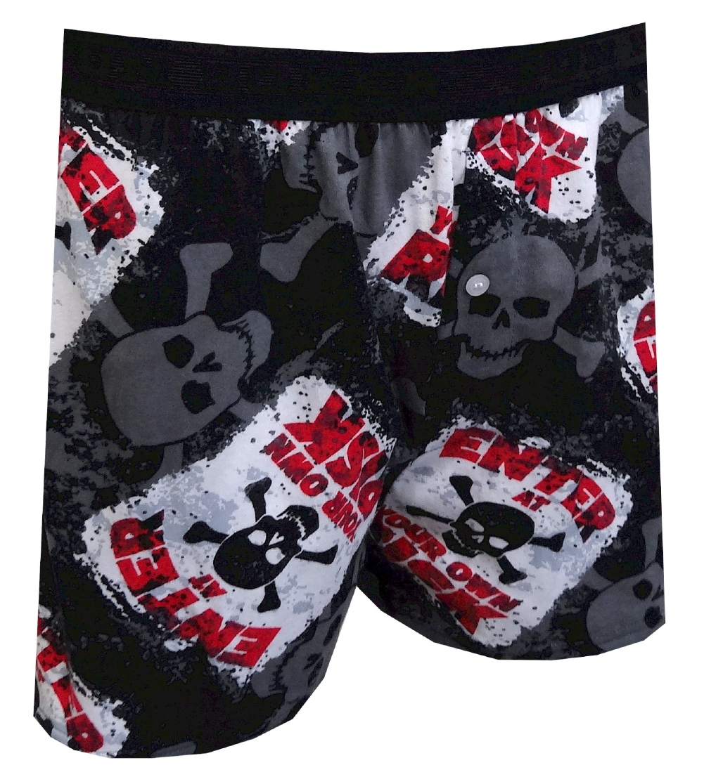 Enter at Your Own Risk Boxer Shorts for men