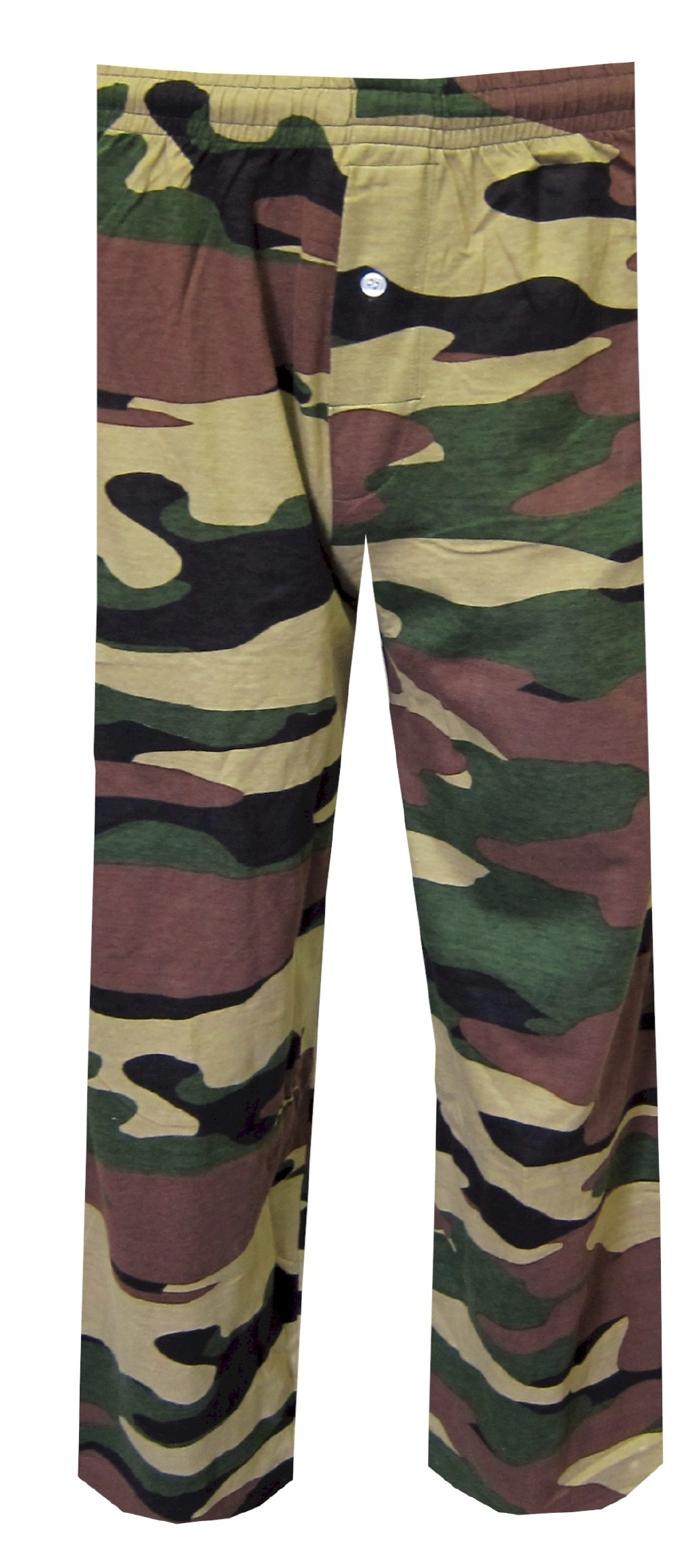 Olive Green Camo Lounge Pant for men