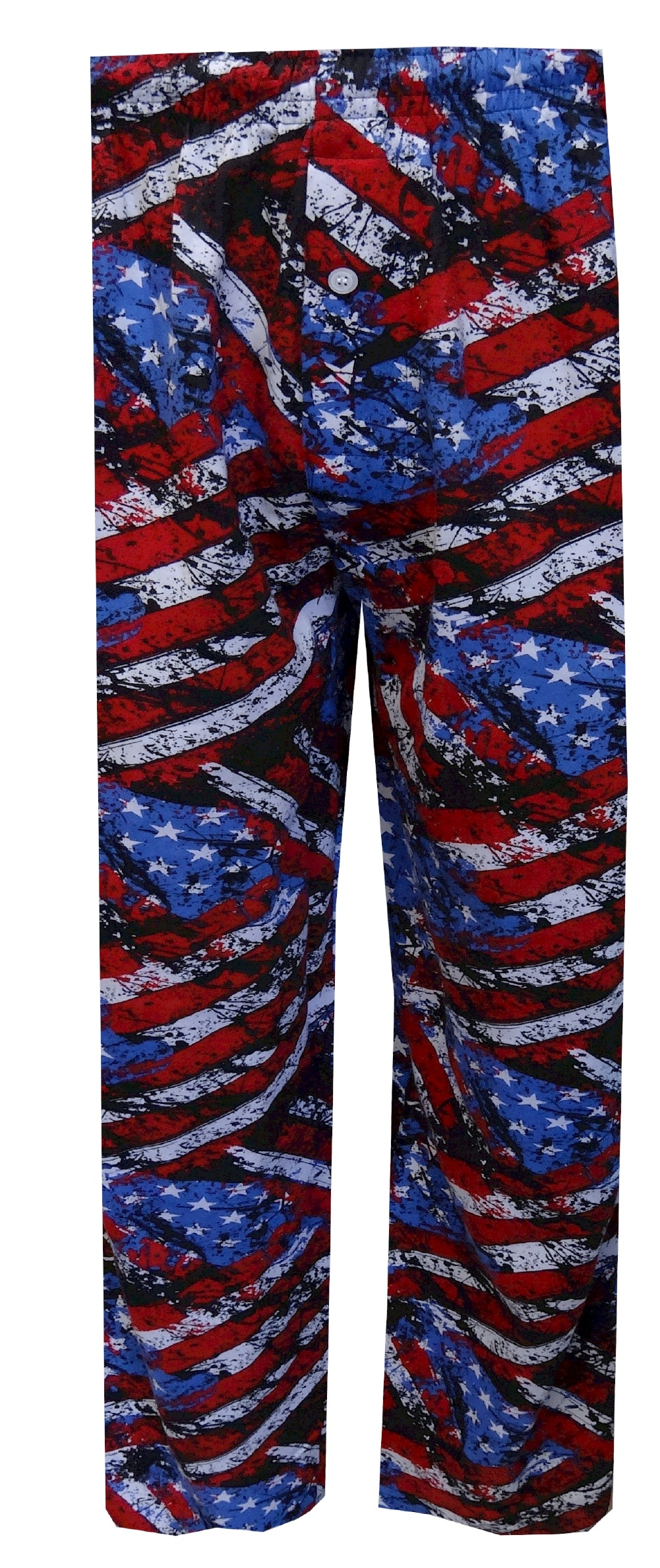 Painted American Flag Lounge Pant for men