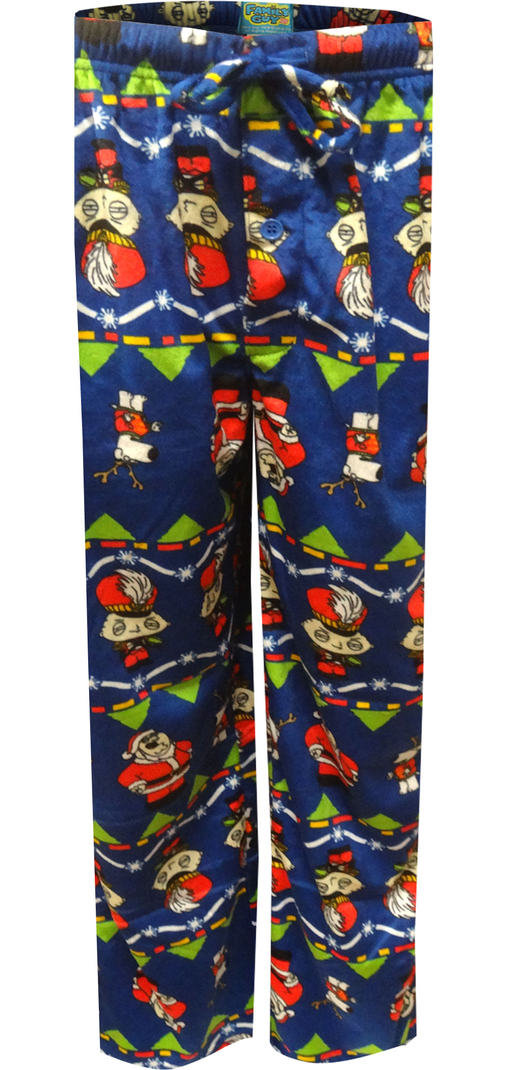 Image of Family Guy Stewie and Peter Christmas Cheer Lounge Pants for men