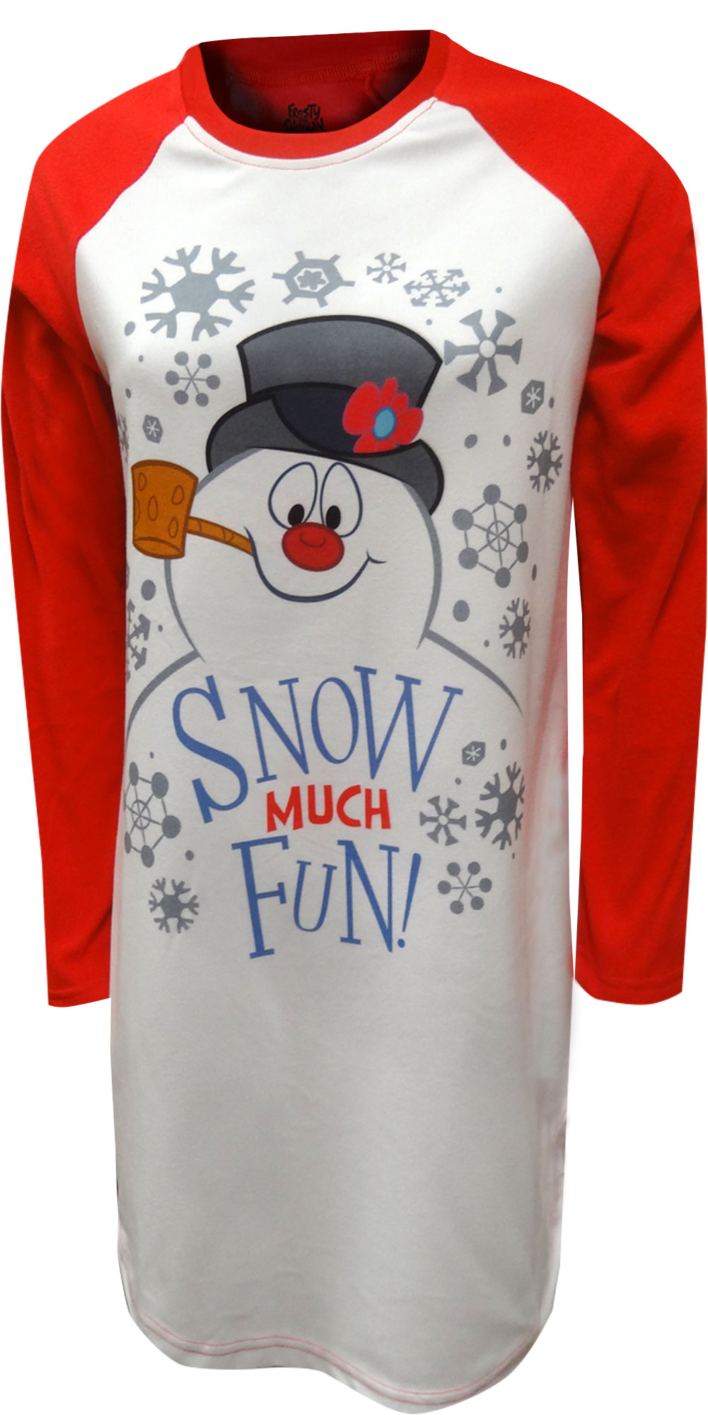 Image of Frosty The Snowman Snow Much Fun Nightshirt for women