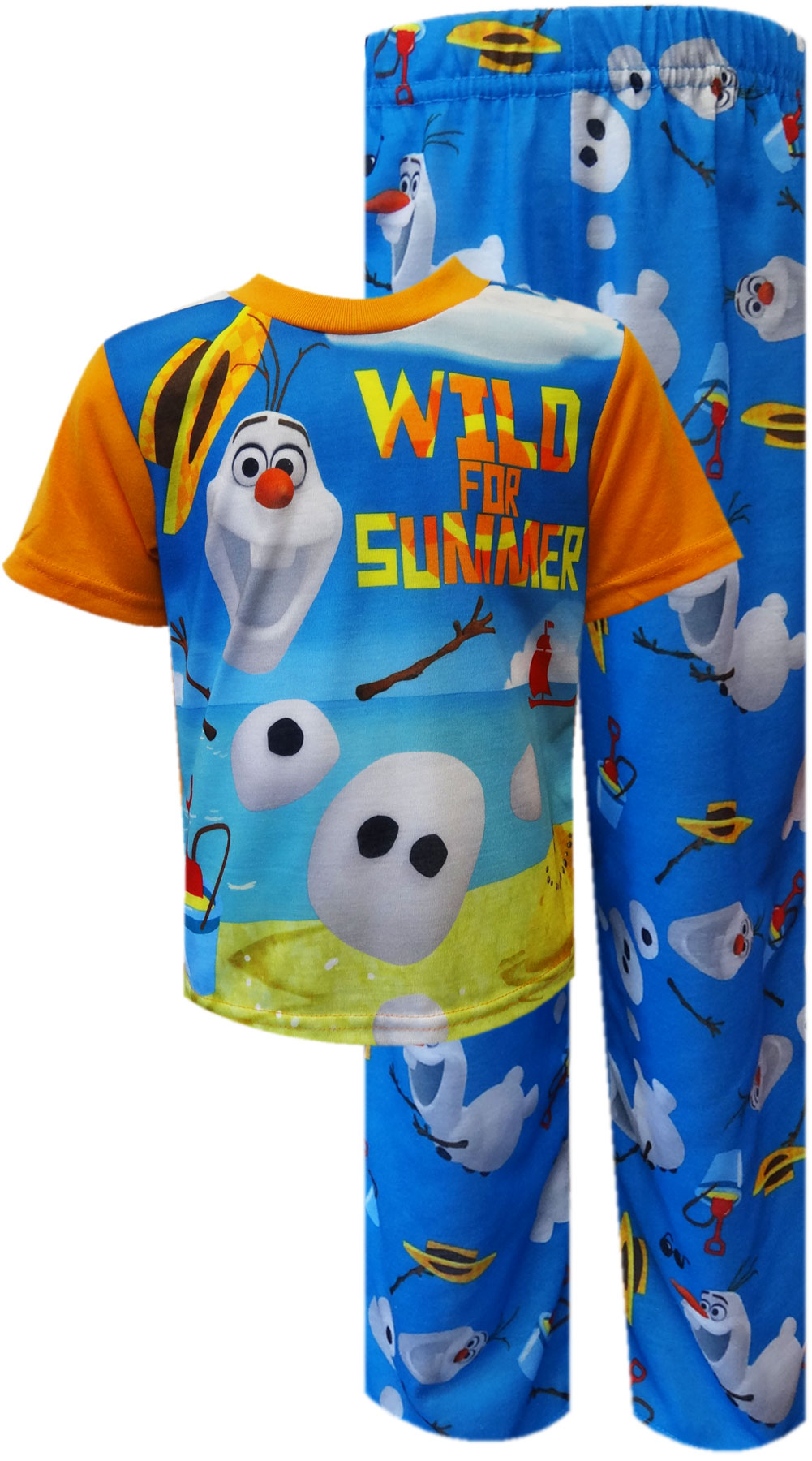 Image of Disney Frozen Olaf Wild For Summer Pajama for boys