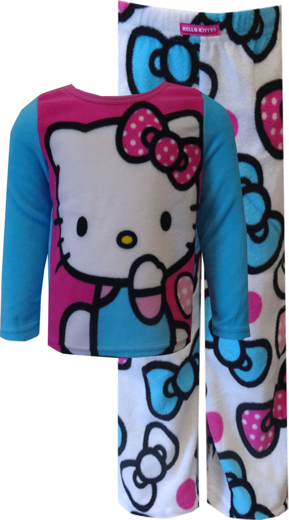 Hello Kitty Soft and Warm Fleece Pajama for girls