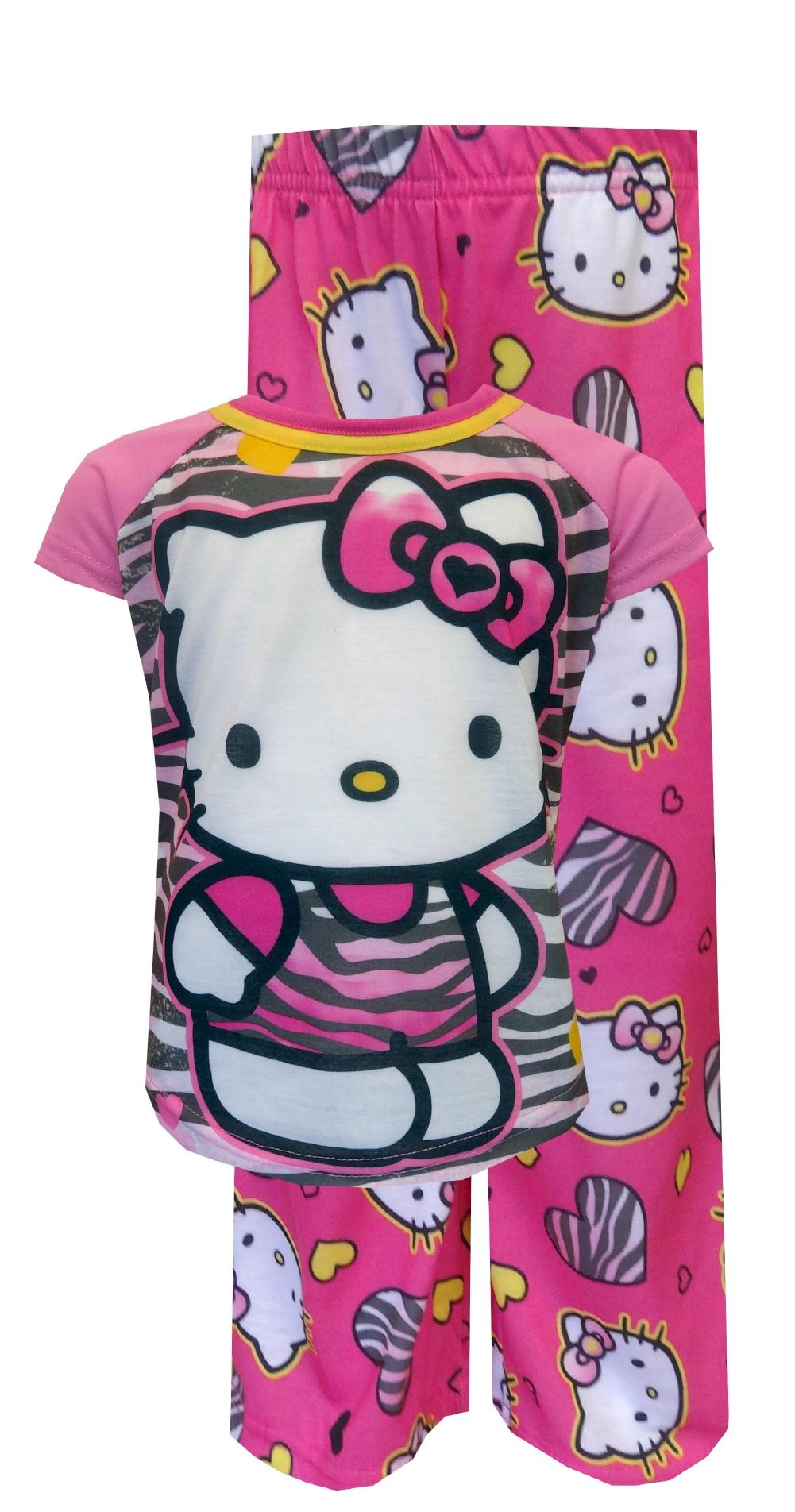 NEW - Cute Hello Kitty Pajamas for Girls