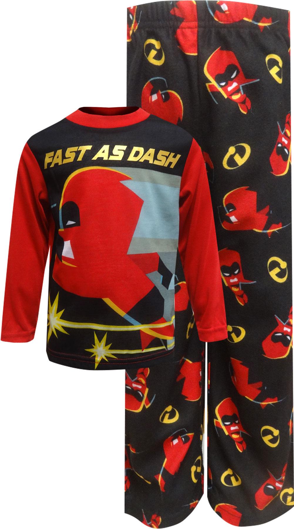 Image of Incredibles Fast as Dash Long Sleeve Pajamas for boys