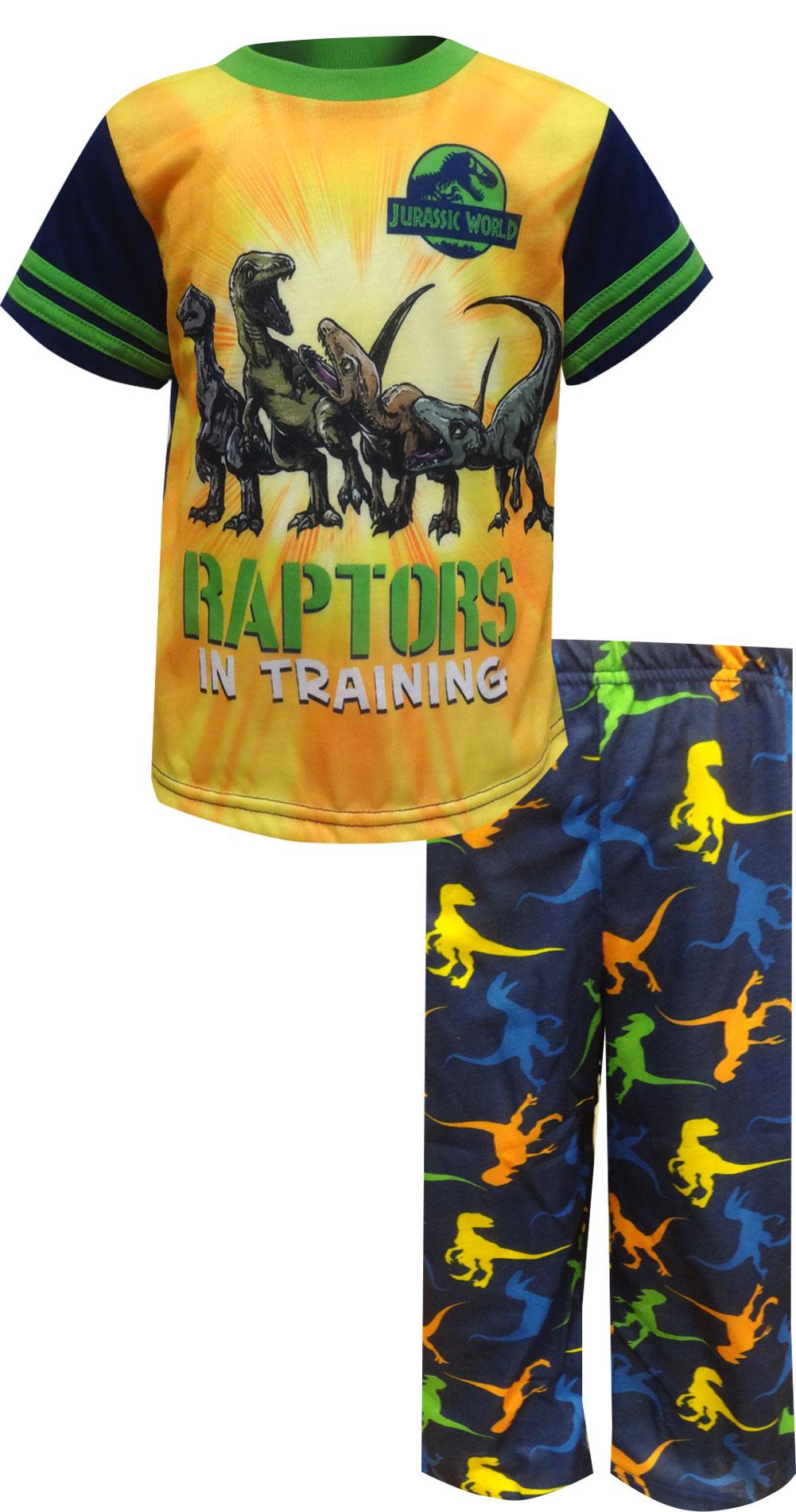 Image of Jurassic World Raptors In Training Toddler Pajama for boys