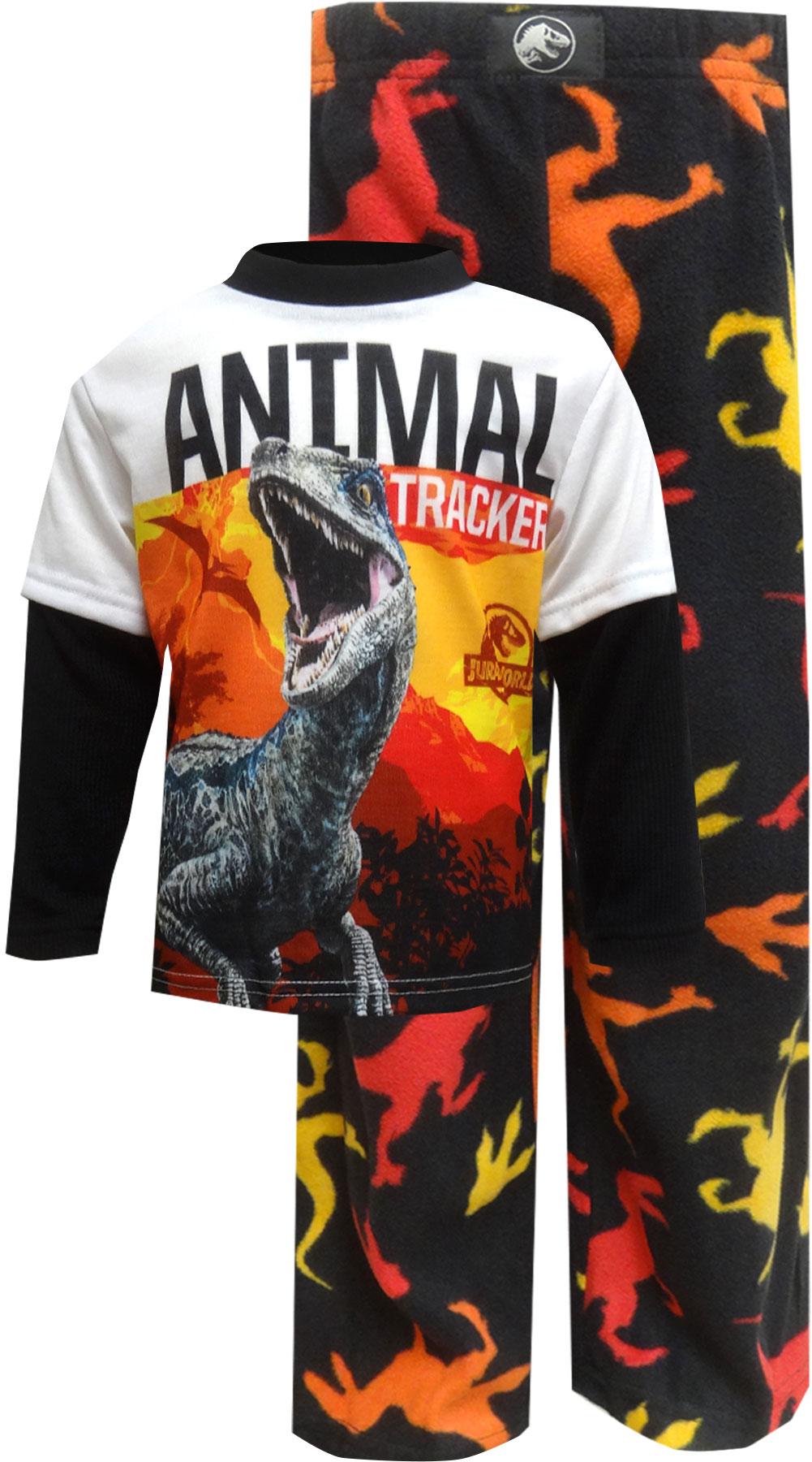 Image of Jurassic World Animal Tracker Pajama for boys