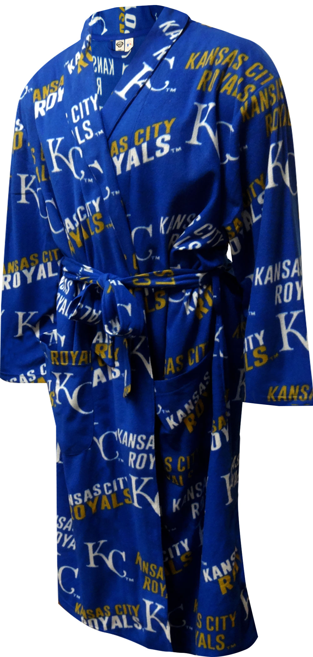 Image of Kansas City Royals Guys Fleece Robe for men
