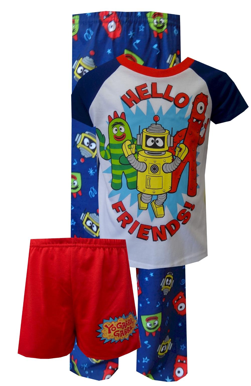 Image of Nickelodeon Yo Gabba Gabba Toddler 3 Piece Pajamas for boys