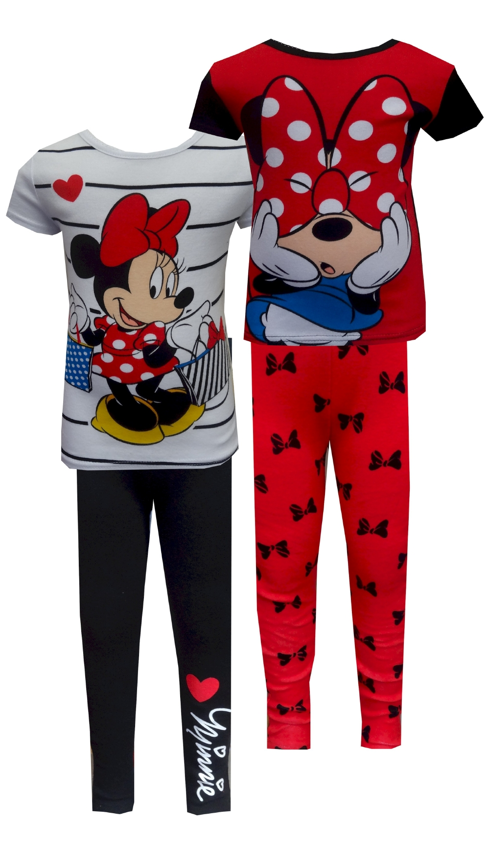 Image of Disney Minnie Mouse 4 Piece Pajama for girls
