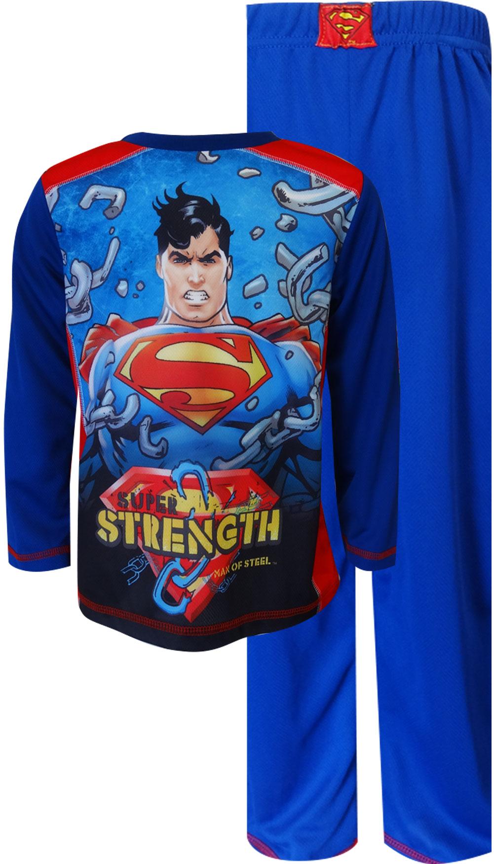Image of DC Comics Superman Super Strength Pajama for boys