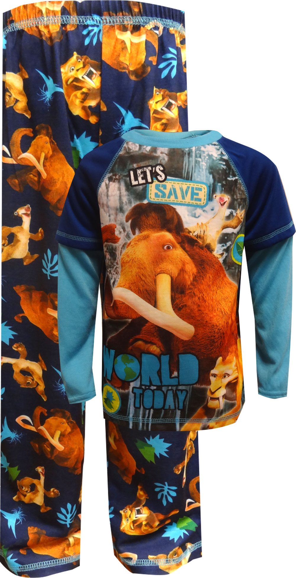 Image of Ice Age Collision Course Pajamas for boys