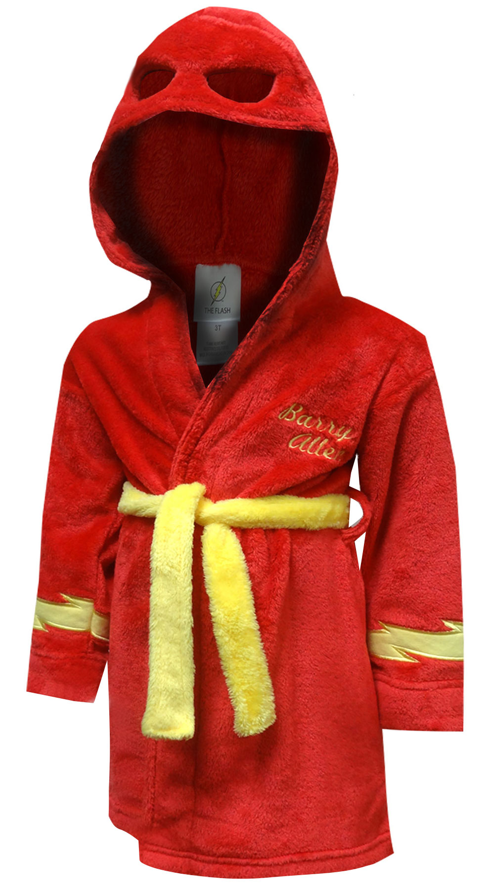 Image of DC Comics Flash I am Barry Allen Plush Toddler Robe for boys