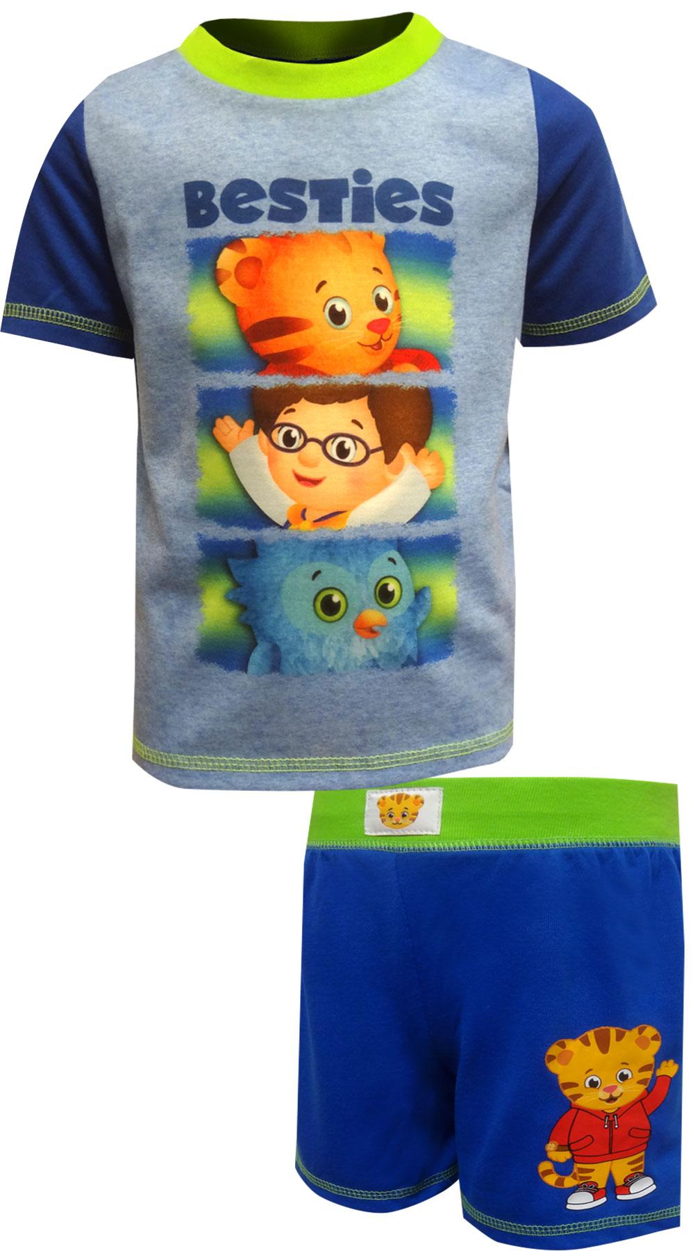 Image of Daniel Tiger's Neighborhood Besties Toddler Pajamas for boys