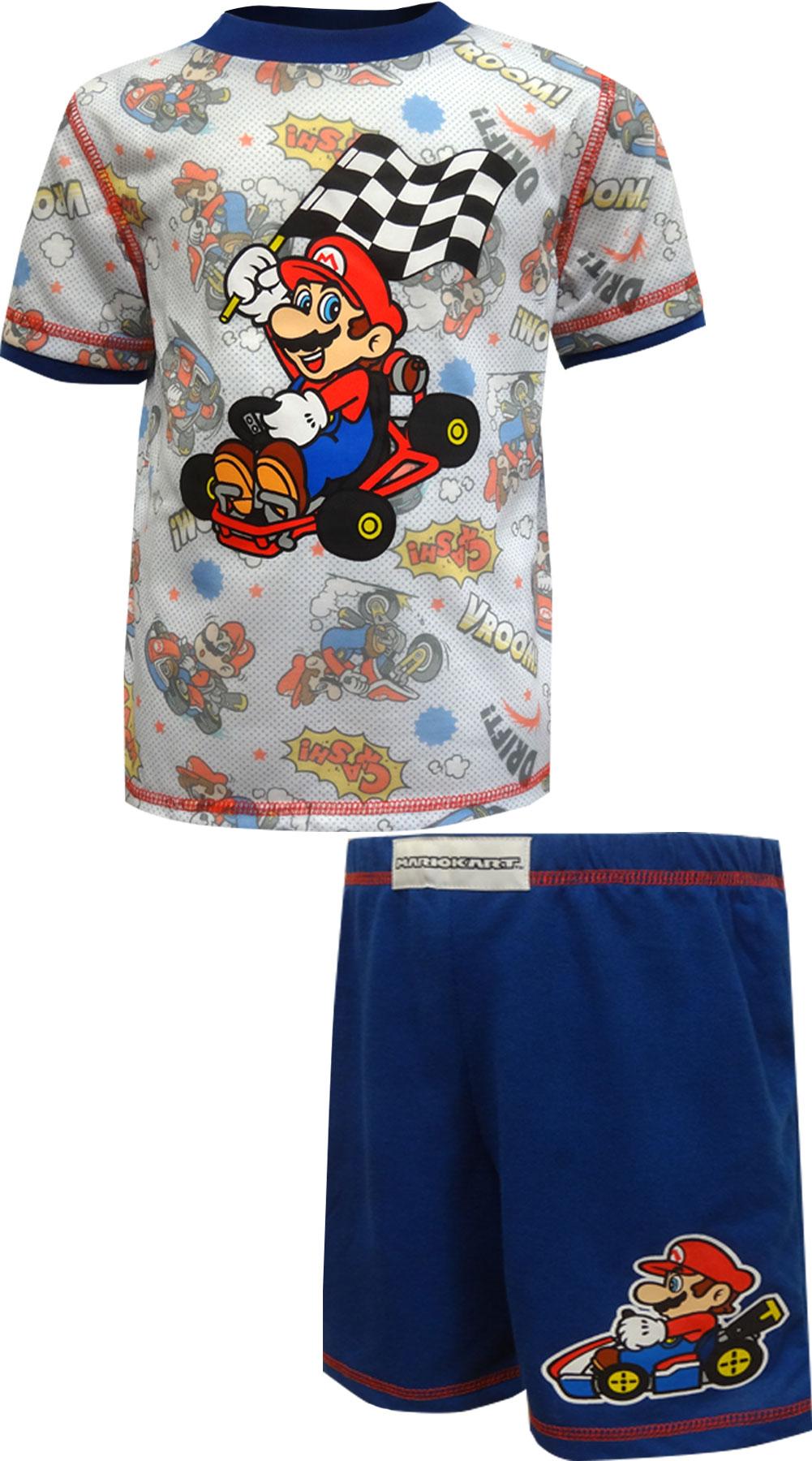 Image of MarioKart Vroom Cash Drift Pajamas for boys