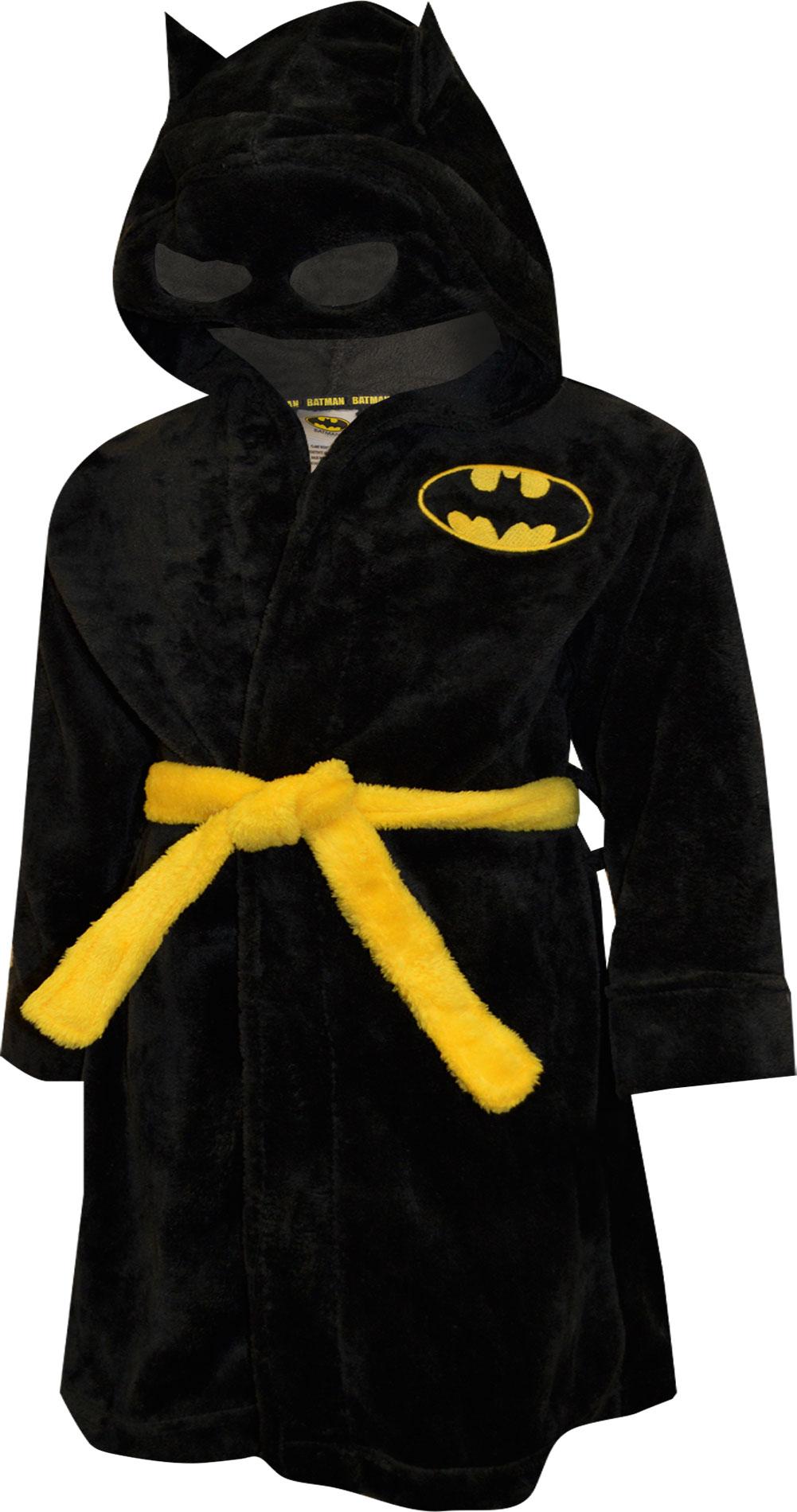 Image of DC Comics Batman Logo Plush Robe for boys