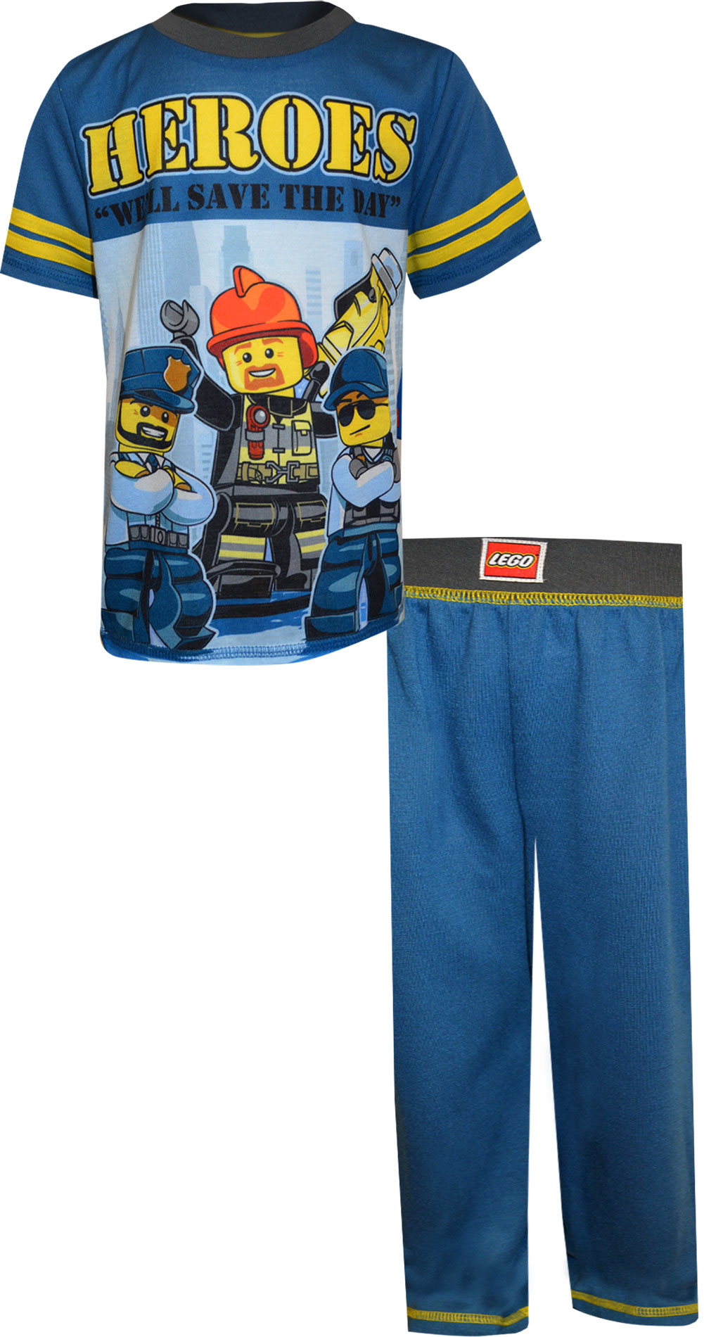 Image of LEGO City Heroes Save The Day Pajamas for boys