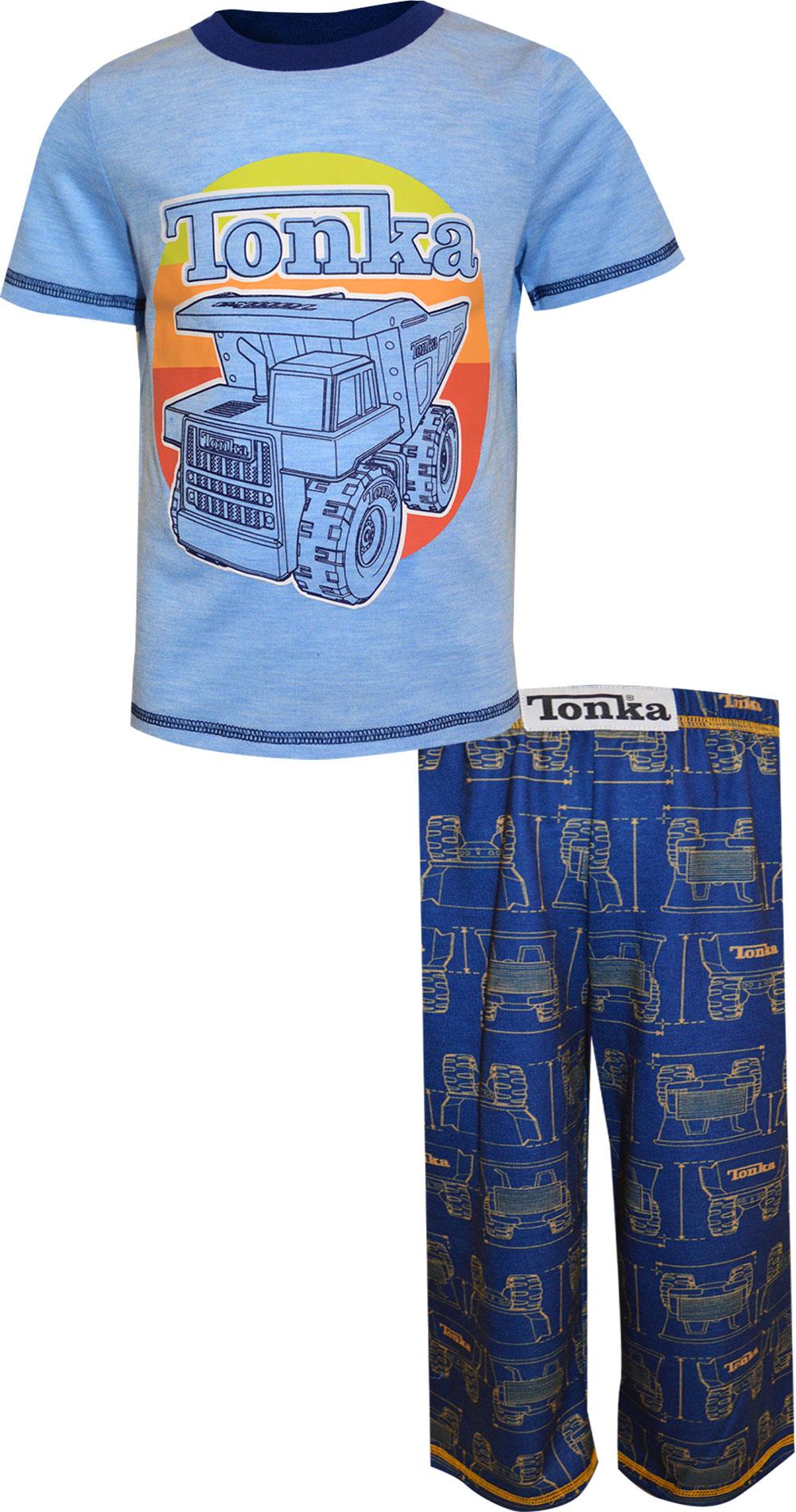Image of Tonka Truck Real Tough Toddler Pajamas for boys