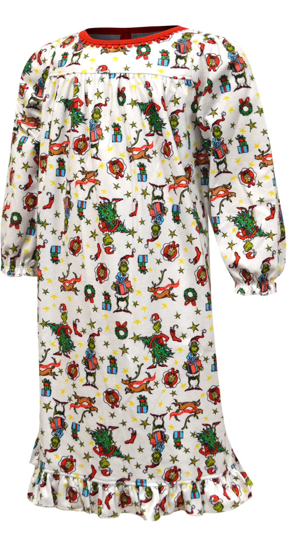 Image of Dr. Seuss The Grinch Traditional Toddler Girls Nightgown for girls