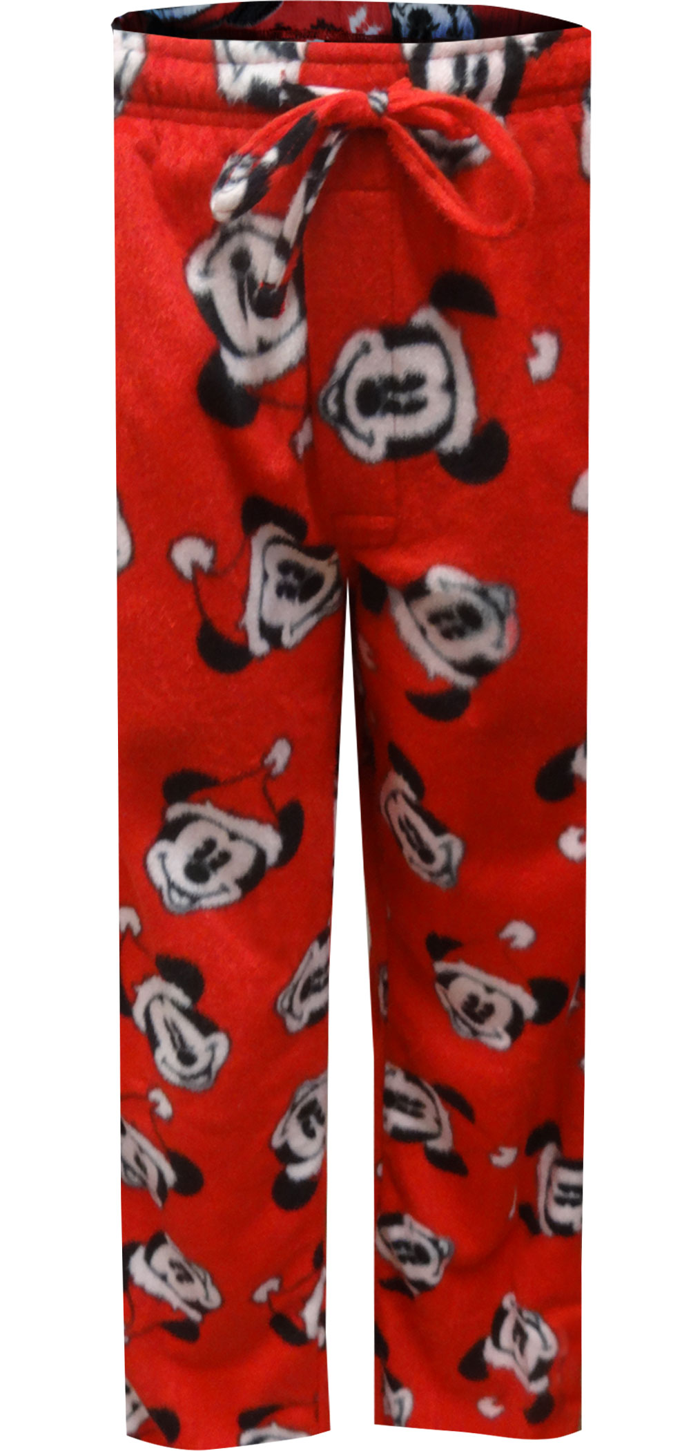 Image of Disney Mickey Mouse Santa Claus Minky Lounge Pants for men 576ca55a5