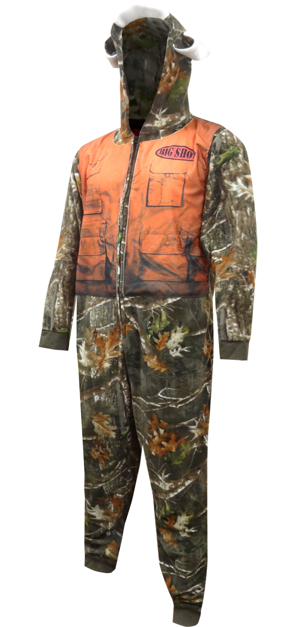 Image of Hunter Camo Big Shot Union Suit One Piece Pajama for men