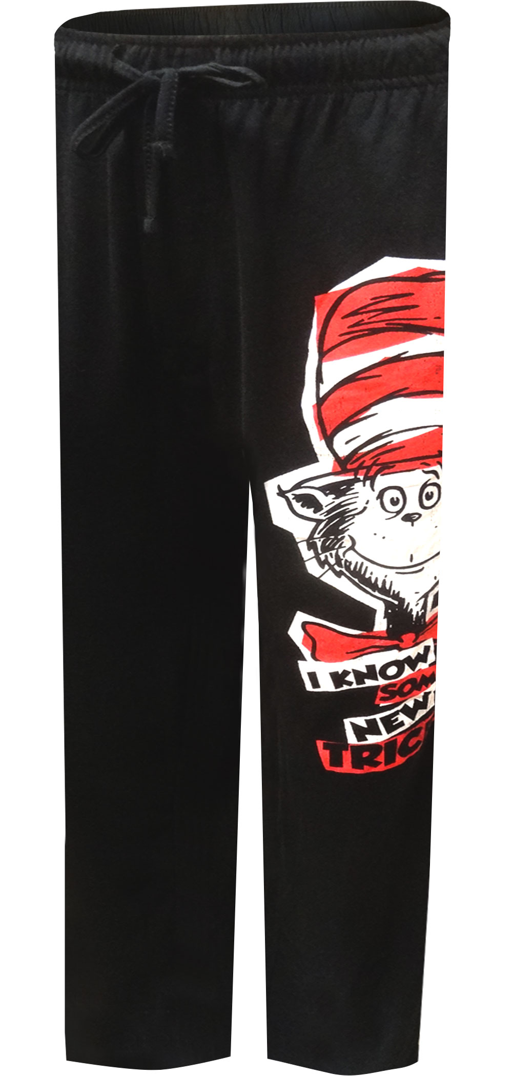 Image of Dr. Seuss Cat in the Hat New Tricks Lounge Pants for men