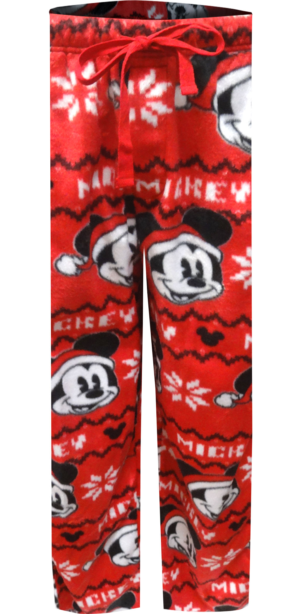 Image of Disney Merry Christmas Mickey Mouse Minky Lounge Pants for men
