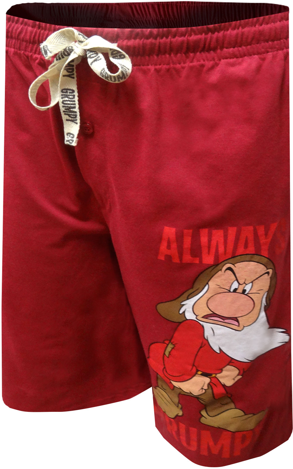 Image of Disney Snow White and the Seven Dwarfs Grumpy Lounge Shorts for men