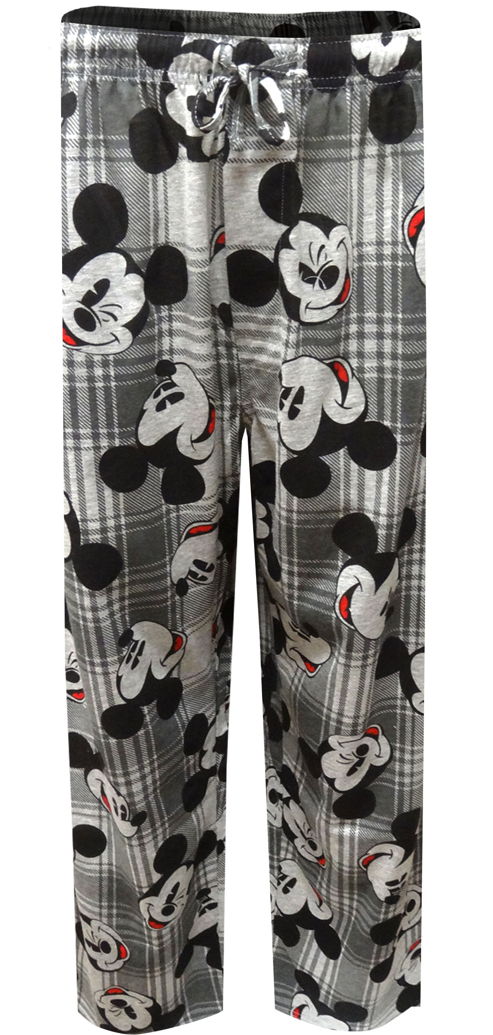 Image of Disney Mickey Mouse Plaid Lounge Pants for men