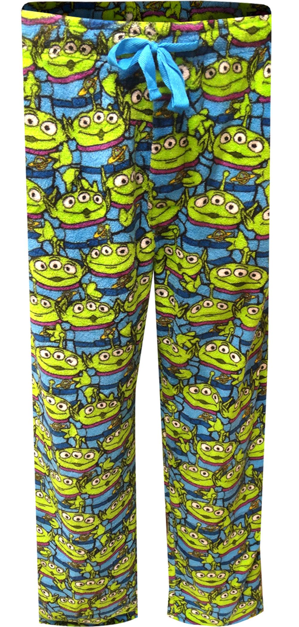 Image of Disney Pixar Toy Story Aliens Plush Lounge Pants for men