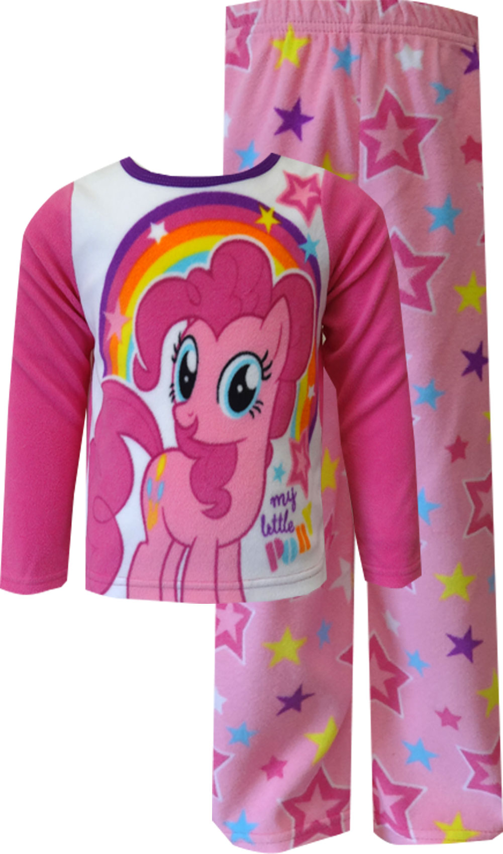 Image of My Little Pony Pinkie Pie Fleece Toddler Pajama for girls