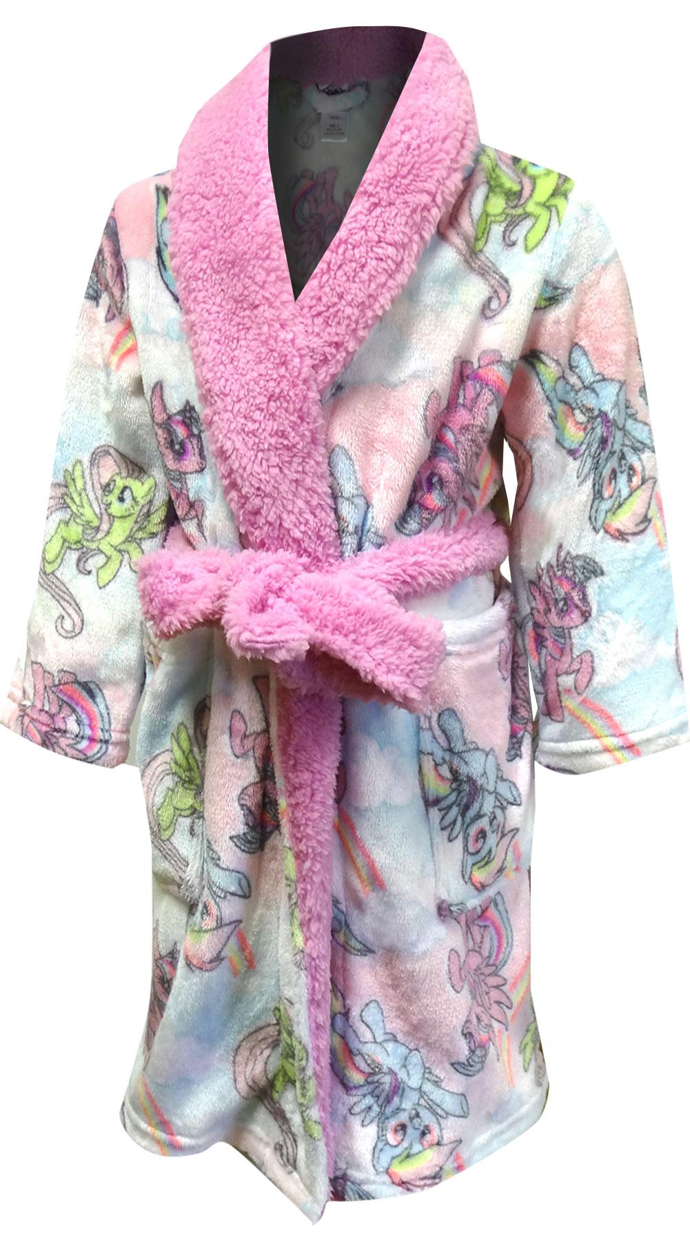 Image of My Little Pony Soft Pastel Plush Robe for girls
